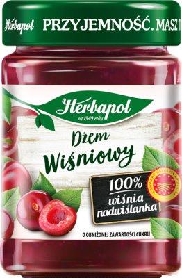 bajo nivel de azúcar mermelada de cereza Herbapol