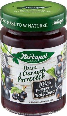 Herbapol Jam faible teneur en sucre de cassis