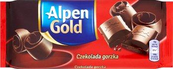 Alpen Gold горького шоколада 90 г