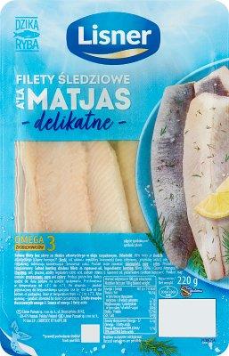 Lisner Delikatne filety śledziowe w oleju a'la Matjas