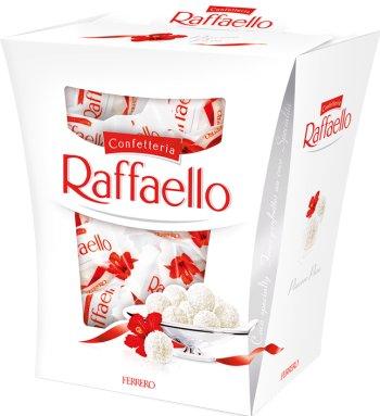 Raffaello Kokosowy smakołyk z chrupiącego wafelka z całym migdałem w środku