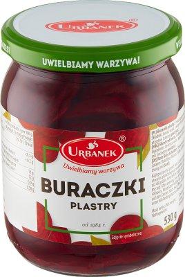 Urbanek Buraczki konserwowe plastry 530 g
