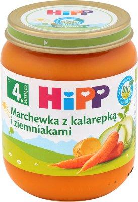 Marchewka z kalarepką i ziemniakami BIO