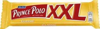 Prince Polo XXL Classic Kruchy wafelek z kremem kakaowym oblany czekoladą
