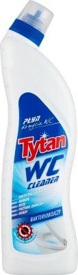 Tytan WC Cleaner Niebieski Bakteriobójczy płyn do mycia wc Usuwa osady