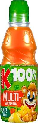 100 % juice multivitamin