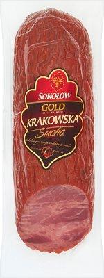 Sokołów Gold kiełbasa Krakowska Sucha pakowana hermetycznie