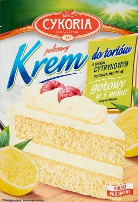 Cykoria Krem do tortów o smaku cytrynowym