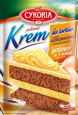 Cykoria Krem do tortów o smaku ajerkoniaku