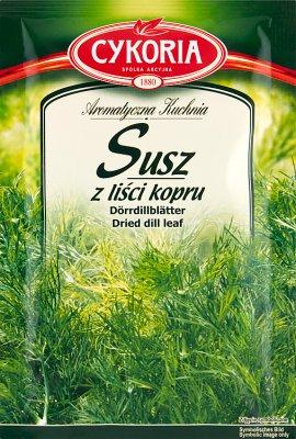 Cykoria Susz z liści Kopru