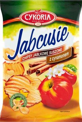 Cykoria Jabcusie chipsy jabłkowe z cynamonem