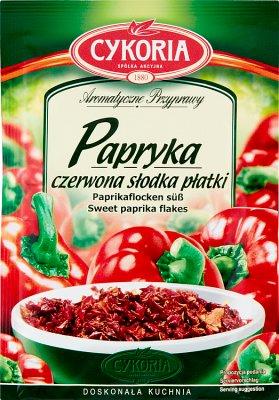 Cykoria Papryka czerwona słodka płatki