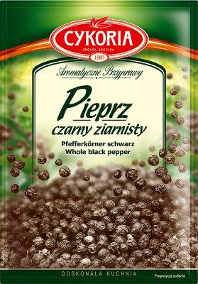 negro pimienta granulada