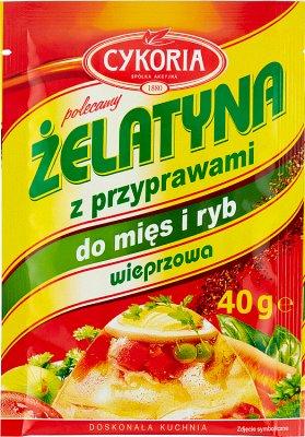 Cykoria Żelatyna spożywcza wieprzowa z przyprawami