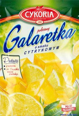 Cykoria Galaretka o smaku cytrynowym