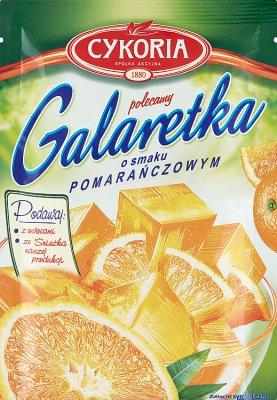 Cykoria Galaretka  o smaku pomarańczowym