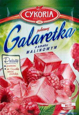 Cykoria Galaretka  o smaku malinowym