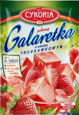 Cykoria Galaretka  o smaku truskawkowym