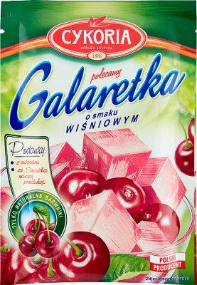 Cykoria Galaretka  o smaku wiśniowym