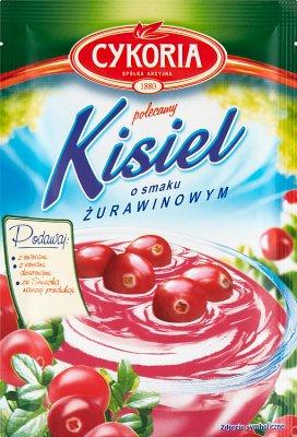 Cykoria Kisiel o smaku żurawinowym