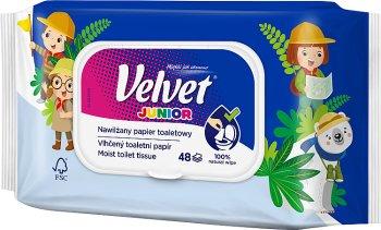Junior moisturizes toilet paper 42 leaves