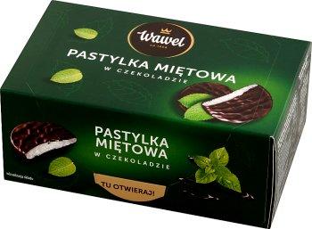 Wawel Pastylka miętowa w czekoladzie