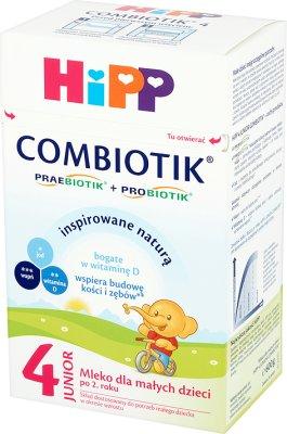 Hipp Orgánica 4 Junior Combiotik seguir en la leche para los niños