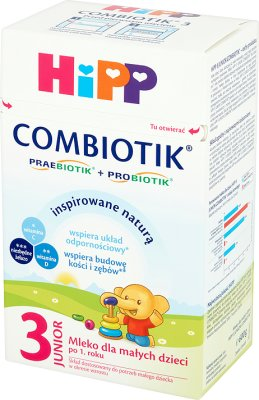 Hipp 3 Junior Combiotik follow on milk for toddlers