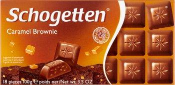 Schogetten czekolada Caramel Brawnie