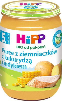 HiPP puree jarzynowe z indykiem BIO