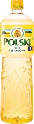 Polish canola oil