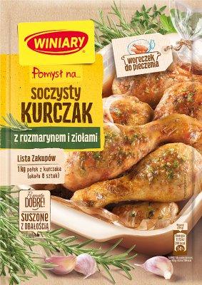 Winiary Pomysł na... Soczystego kurczaka w rozmarynie i ziołach
