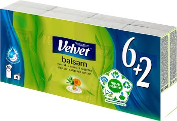 tissus velours Balm 6x9szt