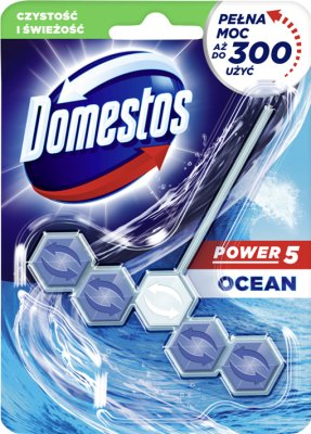 Domestos WC Power 5 pendant with ankle Ocean