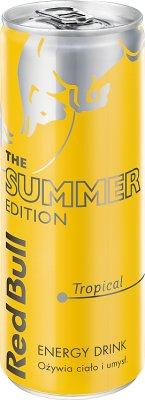 Red Bull Energy Drink napój energetyczny o smaku owoców tropikalnych