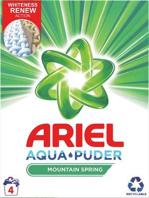 Ariel стиральный порошок для белых тканей и ярких цветов Spring Mountain