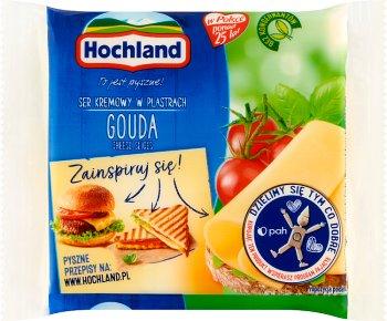 Hochland ser topiony w plastrach Gouda