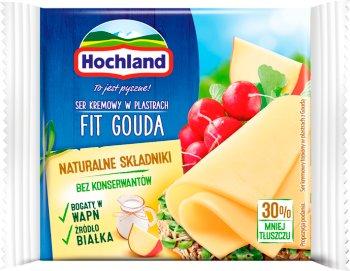 Hochland ser topiony w plastrach Fit Gouda