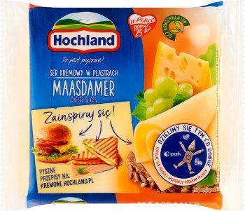 Hochland ser topiony w plastrach Maasdamer
