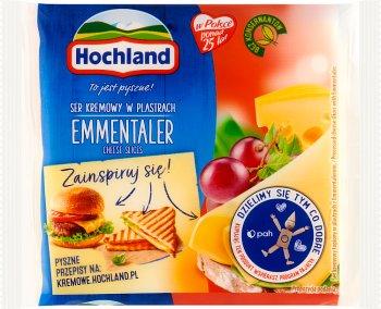 Hochland ser topiony w plastrach Emmentaler