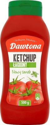 Dawtona ketchup łagodny