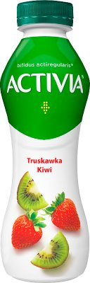 Danone Activia jogurt do picia smak truskawki i kiwi