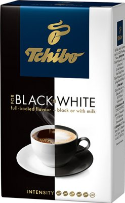 Tchibo for black 'n white kawa mielona
