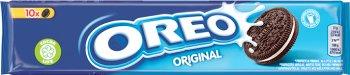 Milka Oreo herbatniki czekoladowe z nadzieniem waniliowym
