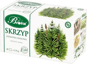 BiFix  skrzyp polny herbatka ziołowa ekspresowa