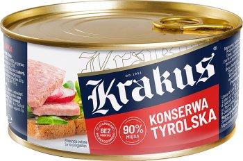Krakus konserwa tyrolska 88% mięsa wieprzowego