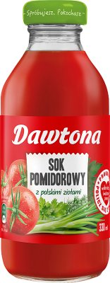 Dawtona sok pomidorowy z polskimi ziołami