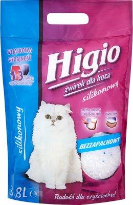 Higio żwirek silikonowy dla kota