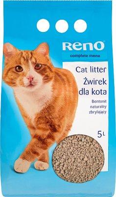 Reno cat litter natural, clumping