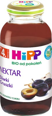 HiPP nektar Śliwki Gruszki BIO